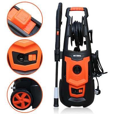 1800W Turbo Household Electric High Pressure Jet Washer Power Cleaner Kit