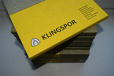 KLINGSPOR 60-2000 Grit Wet & Dry Sandpaper Waterproof Wholesale EU BEST PRICE