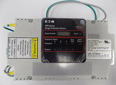 SPD250480Y3C SURGE PROTECTION DEVICE - 277/480V - 250kA TYPE 1 ENCLOSURE