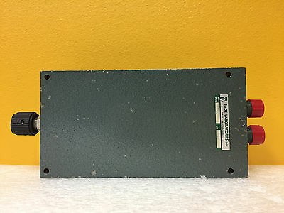 Sage 6507, DC to 10.5 GHz, 0.35 dB, Type N (F) Variable Coaxial Phase Shifter