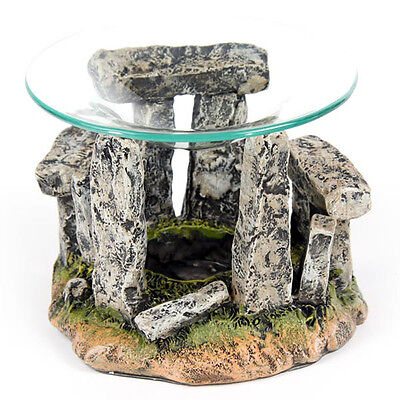 Mini Stonehenge Home Fragrance Tea Light Aromatheraphy Oil Burner Home Deco Gift