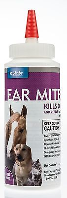 Ear Mite Killer w/ Aloe, 6 oz
