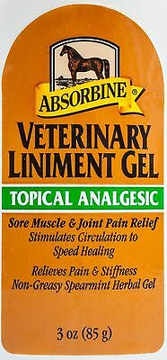 Absorbine Veterinary Liniment Gel, 3 oz