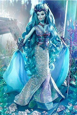 Faraway Forest Water Sprite Barbie doll Facial: Karl Lagerfeld Barbie In shipper