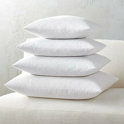 Euro Square Pillow Insert FEATHER / DOWN  Inner Cushion Feather Feather Insert