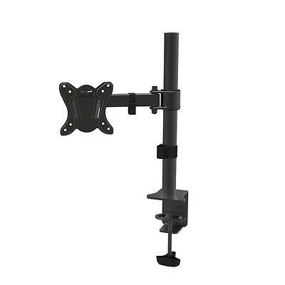 Monitor Desk Mount Fully Adjustable Articulating Stand For LCD Screen up to 27""