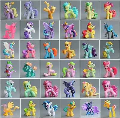 My little pony friendship is magic toy pony toys for kids collection Rare style
