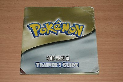 Pokemon Gold Trainers Guide Instruction Booklet Manual Gameboy Color