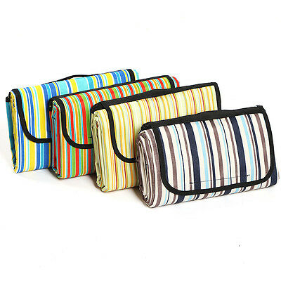 1.5*1.8m Extra Picnic Travel Blanket Oxford Cloth Rug Waterproof Mat Outdoor