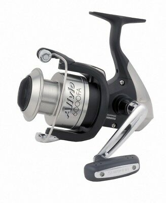 Shimano Alivio 6000 FA Rolle mit Frontbremse Stationärrolle Weitwurfrolle Reel