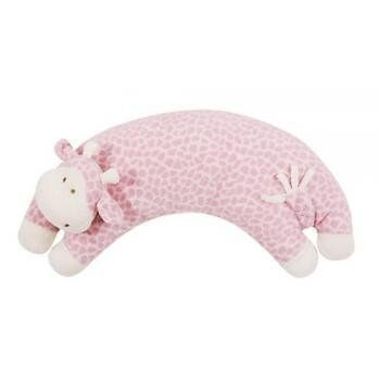 Angel Dear Curved Animal Pillows (one Size : Pink Giraffe)