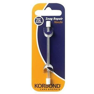 Korbond Snag Repair Needle 1pc Snags, Pulled Threads NEW 110231