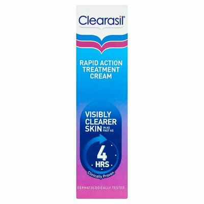 Clearasil Ultra Rapid Action Treatment Cream 25ml 1 2 3 6 Packs