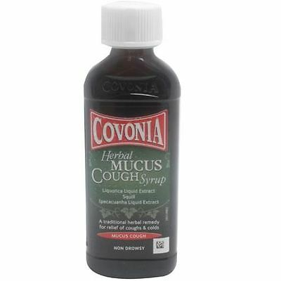 Covonia Herbal Mucus Cough Syrup 150ml 1 2 3 6 Packs