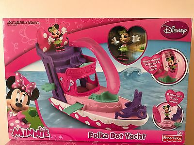 Disney Minnie Mouse Minnie's Polka Dot Yacht New Sealed