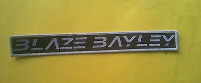 Blaze Bayley / Official Wooven Patch / 2013