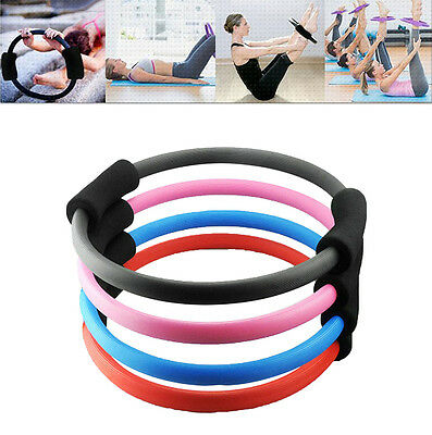 Pilates Ring Magic Circle Dual Grip Sporting Goods Yoga Exercise Fitness DF