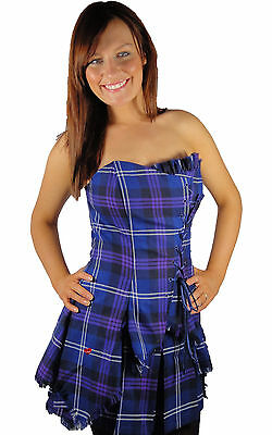Tartan Corset - Bella in Heritage of Scotland