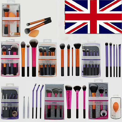 New 2017 TECHNIQUES Makeup Brushes Starter Kit/ Core Collection/Travel Set