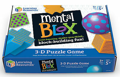 Learning Resources Mental Blox Critical Thinking Game - NEW