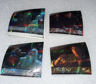 LORD of the RINGS The Fellowship of the Ring Sticker Set  LOTR