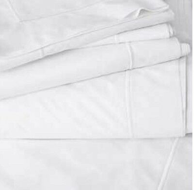 *1@3. The White Company Savoy Bed Flat Sheet King Size  Egyptian Cotton
