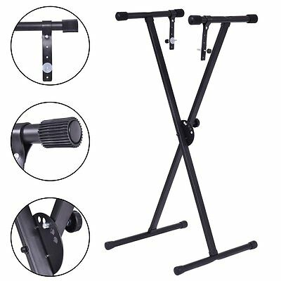 Adjustable Portable X Stand for Electronic Keyboard Electric Piano Organ 61 Key