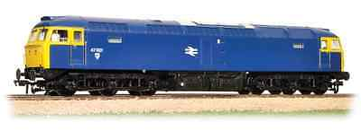 Bachmann 31-659DS Class 47 47001 BR Blue DCC Sound Fitted OO Gauge