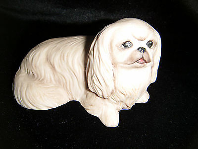 Lovely porcelain Pekingese ornament by Aynsley