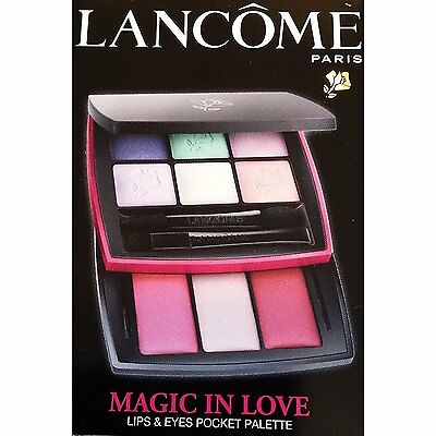 Lancôme Paris Magic In Love Lips & Eyes Pocket Palette New!
