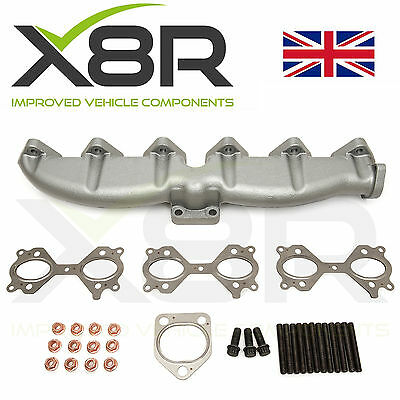 BMW New Replacement Cast Iron Exhaust Manifold With Gaskets Nuts Studs Bolts