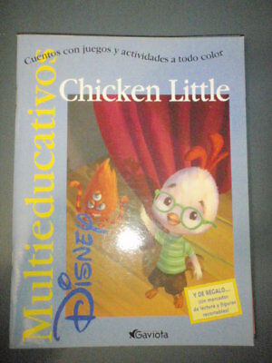 CHICKEN LITTLE Disney CUENTO MULTIEDUCATIVO