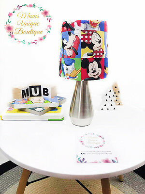 Mickey Minnie Mouse Baby Children Nursery Table Lamp Night Light Touch Lamp