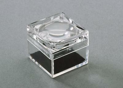 Small Magnifier Boxes (F5)- display and view mineral specimens, fossils, gems
