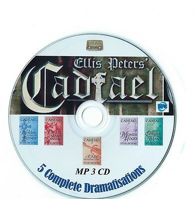Cadfael Audio Books 5 Complete Dramatised Stories Old Time Radio MP3 CD 8+Hours