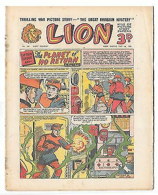 Lion 169 (14th May 1955, high grade copy) Captain Condor by Frank Pepper