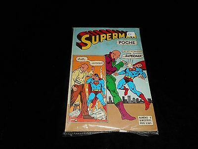 Superman poche 6 Editions Sagédition 1977