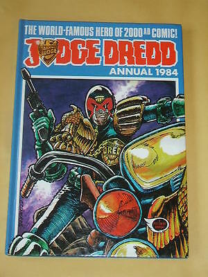 JUDGE DREDD ANNUAL (1984) Great Condition