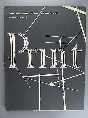 Print: The Magazine of the Graphic Arts, Vol. 8, No. 3, October, 1953