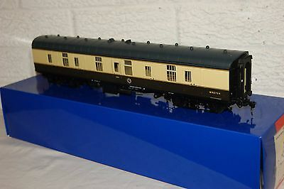 O gauge EXCELLENT Heljan mk 1 Full Brake Coach BR Brown Cream livery W80734