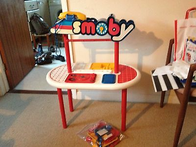 Original Vintage Smoby Childrens Kitchen With Extras Very Rare 80s 90s