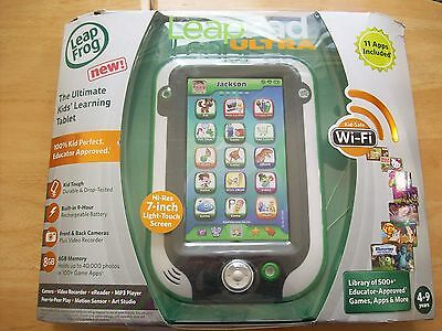 Leapfrog Leappad Ultra Tablet Green - Boxed Complete