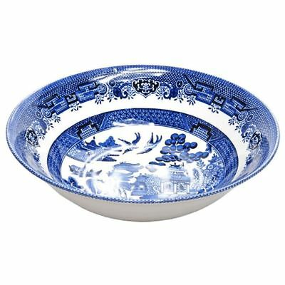 Churchill - Blue Willow Salad Bowl 24cm (Made in England)