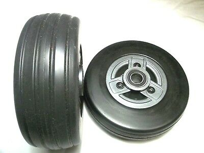 "Universal 6""x 2"" Front or Rear Casters Wheels Power Wheelchairs 638C2RS100"