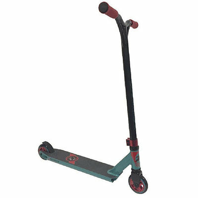 Torker Sequence Complete Scooter - Aqua Red and Black Torker