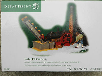 DEPT 56 NEW ENGLAND VILLAGE Accessory LOADING THE GRAIN *Store Display - Read*