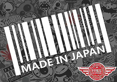 Made In Japan Sticker Decal Jdm Tuner Low Domo Funny Euro Car Jdm