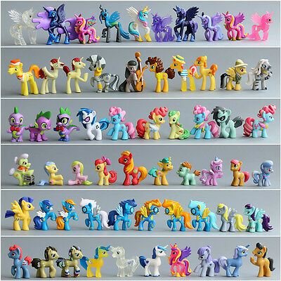 Lot of My little pony friendship is magic figure pony toys for kids 2 inch