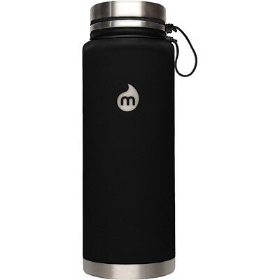 Mizu V12 W Stainless Steel Lid Unisexe Accessoire Gourde - Soft Touch Black