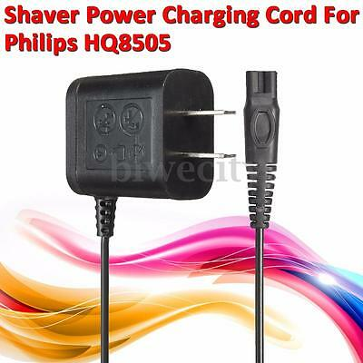 US Plug Charger Power Cord Adaptor Supply For Philips Norelco Shaver HQ8505 New